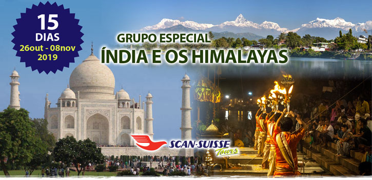 Grupo Especial Scan-Suisse Índia e os Himalayas