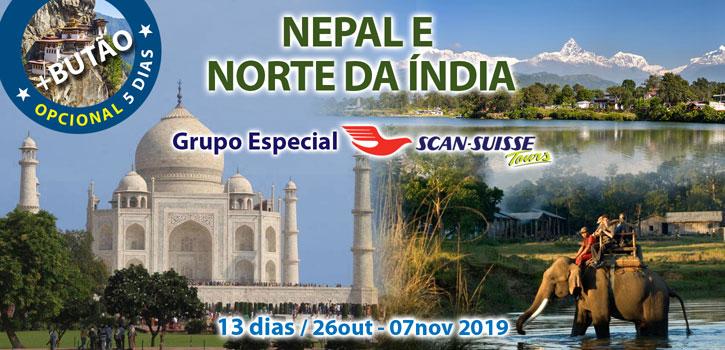 Nepal e Norte da Índia ScS