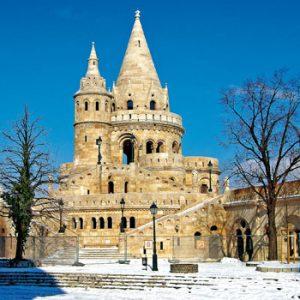 Viena-Budapest-Praga - Inverno