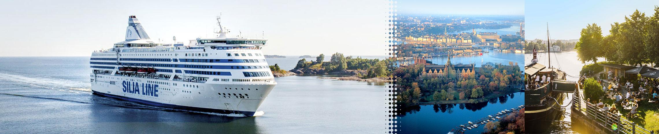 SILJA LINE Estocolmo-Helsinki v.v.