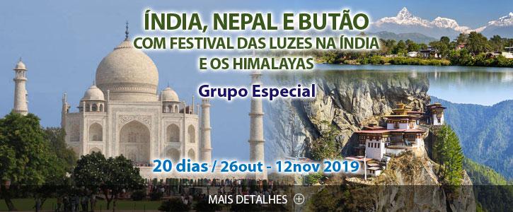 Destaques e Viagens Especiais Nepal e Norte da Índia Scan-Suisse 2019
