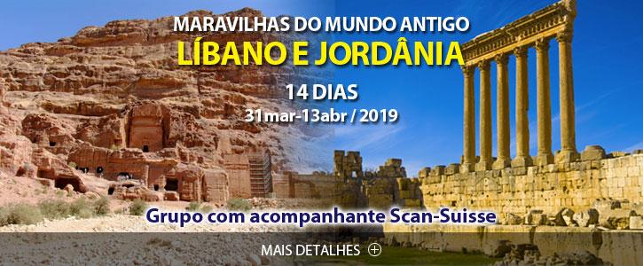 Líbano e Jordânia 2019