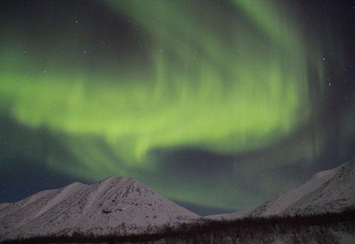 Trem Luzes do Norte Img Aurora Boreal
