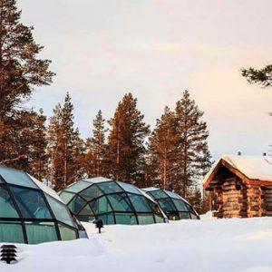 Pacotes de Inverno - Kakslauttanen Resort Lapônia Inverno