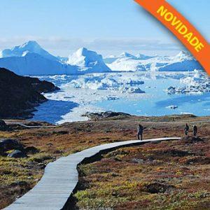 Verão, Sol e Enormes Icebergs na Groenlândia