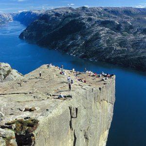 O Sognefjord, Bergen, Stavanger e Pulpit Rock