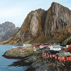 Lofoten, Sami e Vikings