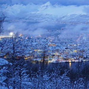 Luzes de Tromso - Inverno