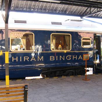 Machu Picchu com Expresso Hiram Bingham